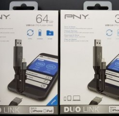 PNY Duo Link IPhone OTG Flash